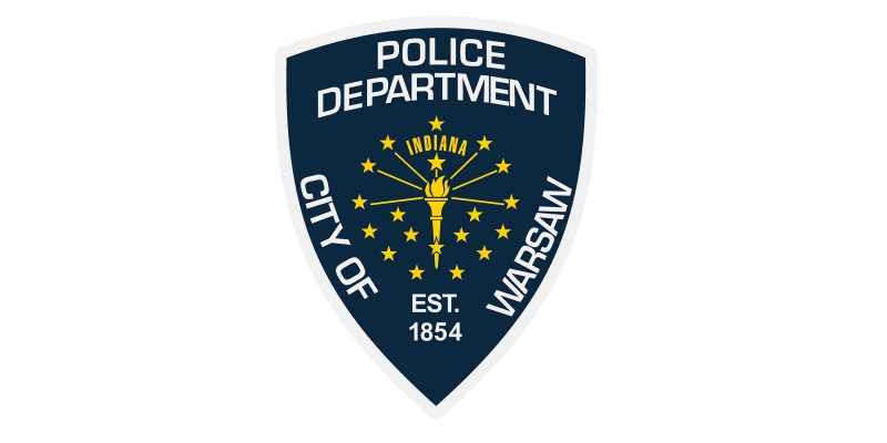 Warsaw Police Department Patch
