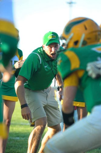 Darin Holsopple resigned from his head coaching position Monday morning. (File photo by Mike Deak)