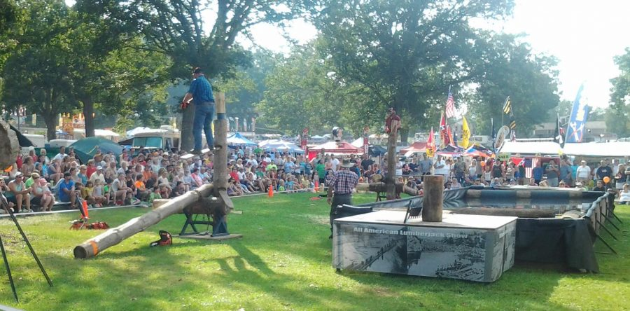 All American Lumberjack Show from Minnesota will perform two free shows during North Webster Fall Festival. They will be at 12:30 p.m. and 3 p.m. Saturday, Sept. 24, Mermaid Festival Grounds.