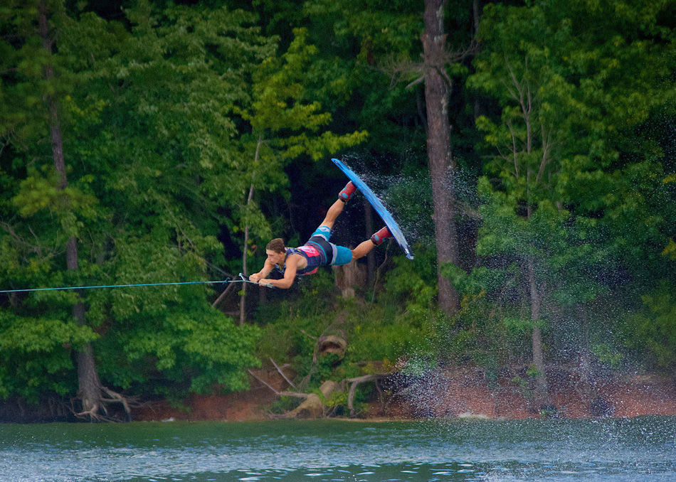 Warsaw's Noah Wildman finished sixth at the WWA Wakeboarding International competition last weekend in Toronto. (Photo provided)