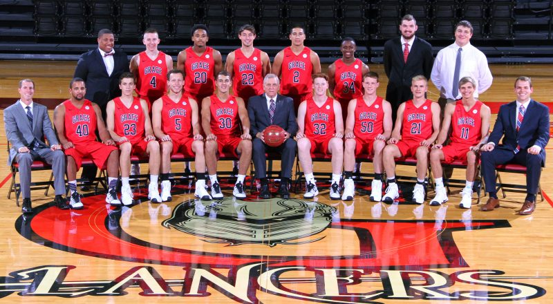 The Grace College men's basketball team will feature plenty of new faces this season. The Lancers open the season Oct. 28-29 by hosting their own Tip-Off Classic (Photo provided by the Grace College Sports Information Department)