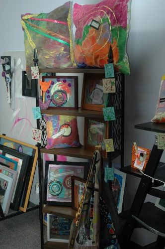 Display of artwork