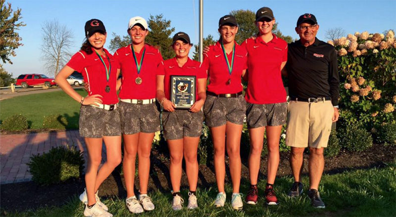 The Grace College women's golf team closed its season in style Saturday by winning the Mt. Vernon Nazarene Invitational (Photo provided by the Grace College Sports Information Department)