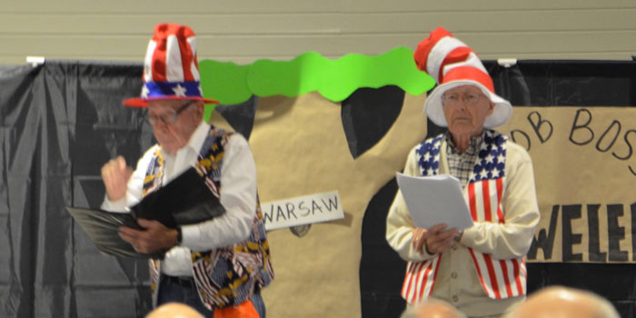 Bill Landrigan and Stan Stokes cite a Dr. Seuss inspired poem.