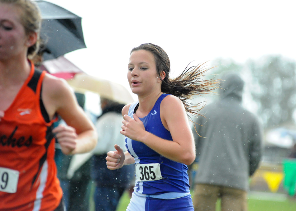 Whitko's Hanna Yohe competed in Saturday's West Noble Cross Country Regional. (File photo by Mike Deak)