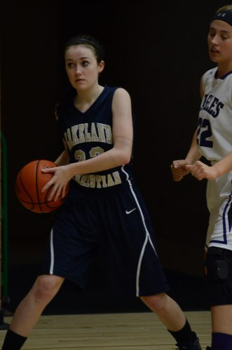 Heather Plastow looks to make a move.