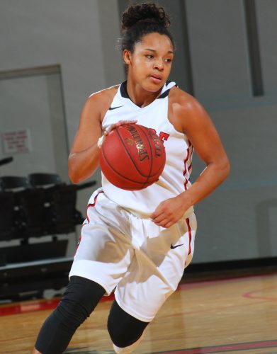 Vironnica Drake had a big fourth quarter to help Grace to a win Wednesday night (Photo provided by the Grace College Sports Information Department)