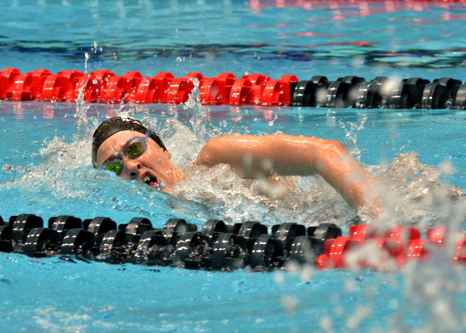 Wawasee senior Paige Miller will take aim at returning to the state level in both the 200 and 500 freestyle swims this season. (File photo by Nick Goralczyk)