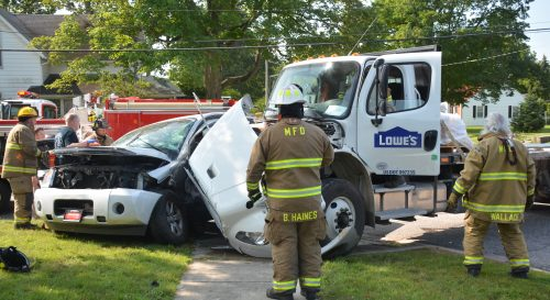 Two-Vehicle Accident In Milford – InkFreeNews com