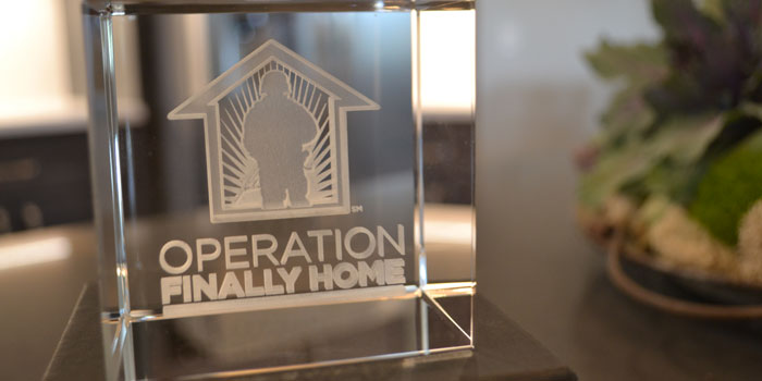 The Warsaw building project marked Operation Finally Home's first Indiana building site.