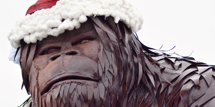 Bigfoot Sculpture Erected Where Some Search For Mythical