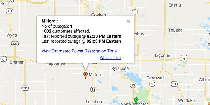 BREAKING: Large Power Outage In Milford – InkFreeNews.com