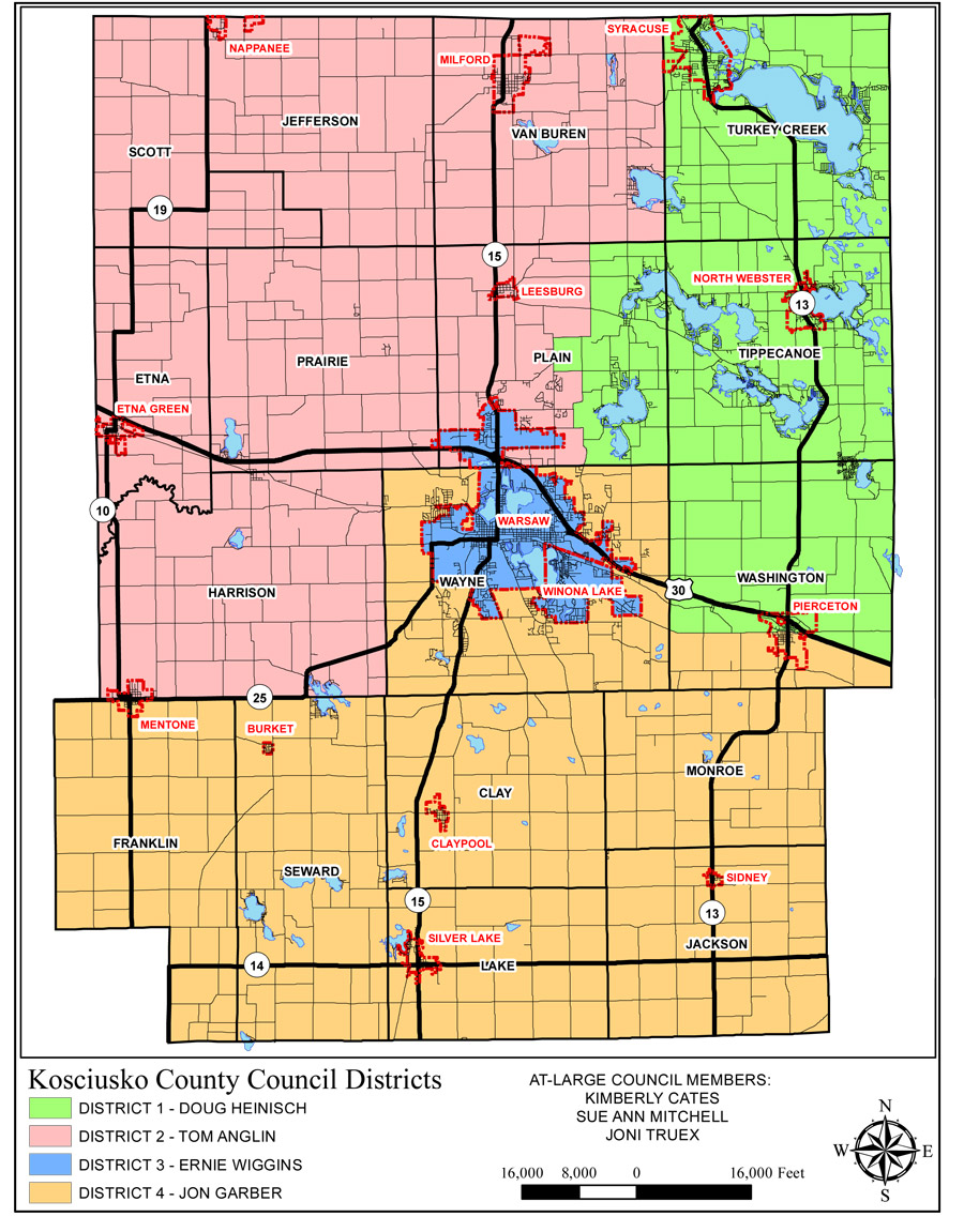 A Look At The General Election Ballot – InkFreeNews.com Kosciusko County Indiana Voting District Map on