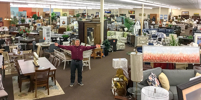 Warsaw This Black Friday Is A Special One Proclaims Owner Of J B S Furniture Jon Blackwood There Will Be Wide Savings On Everything In Stock