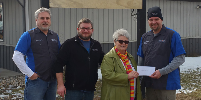 Orthocity Brewery And Smokehouse Donates To Warsaw Evening