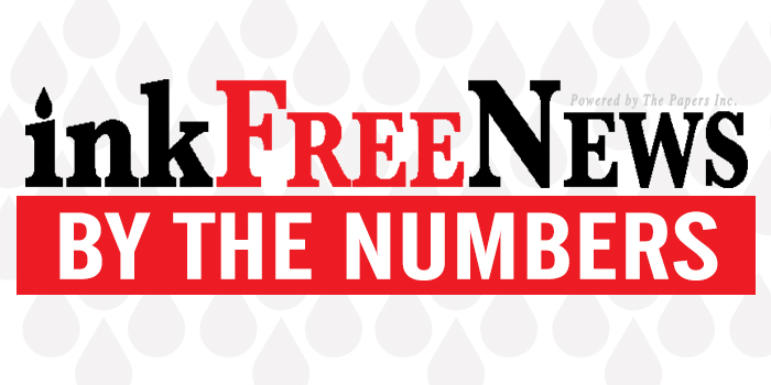 By the Numbers – InkFreeNews com