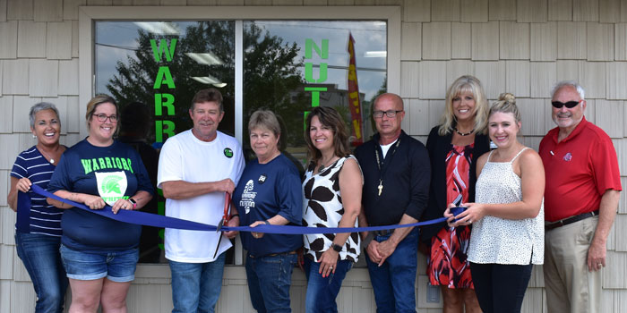Ribbon Cutting Warriors Nutrition